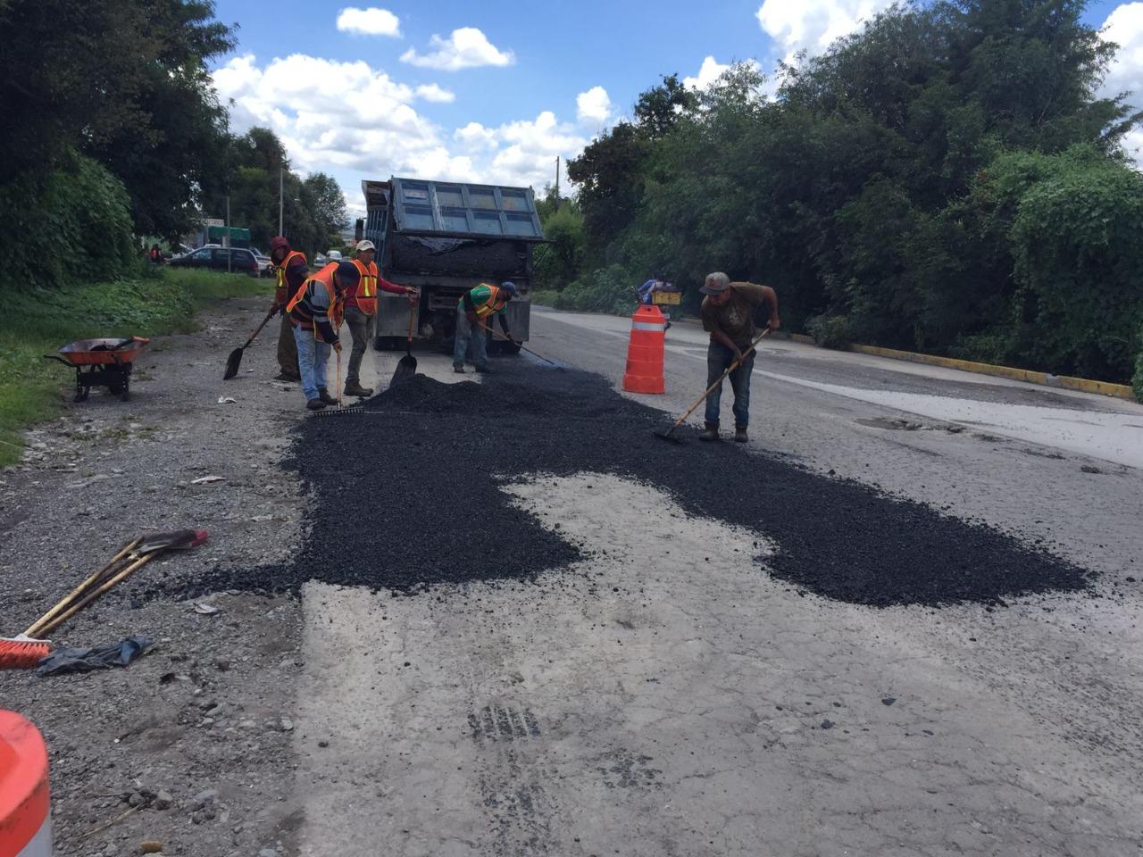 Bachea Secretaría de Infraestructura carretera Texmelucan-Atzompa