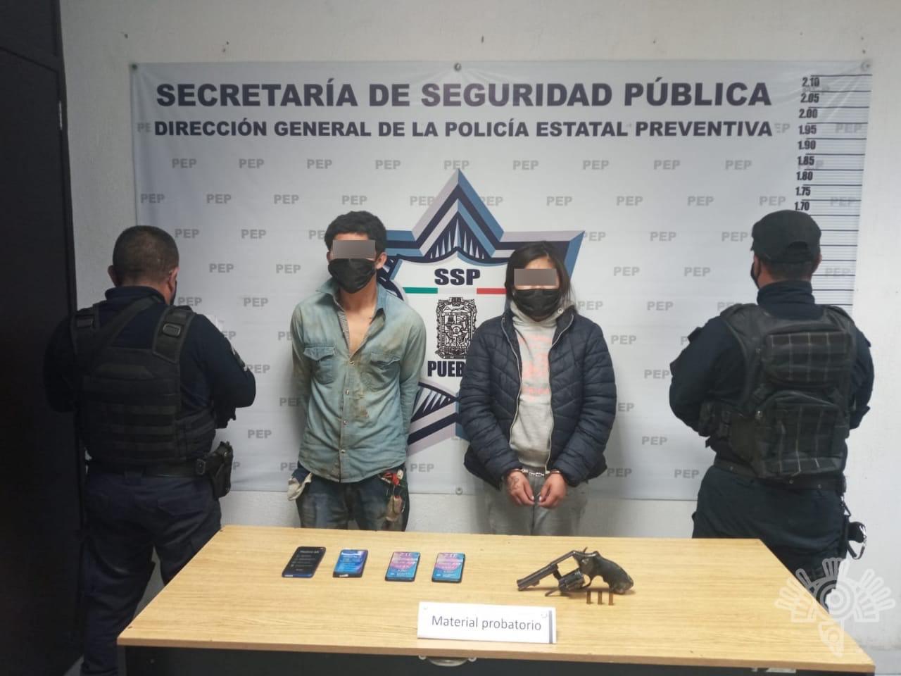SSP captura a presuntos asaltantes de tiendas Coppel en Amozoc