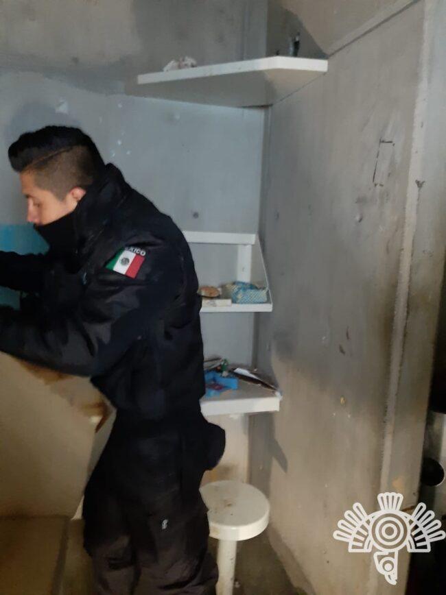 Realiza SSP operativo en centro penitenciario de Ciudad Serdán