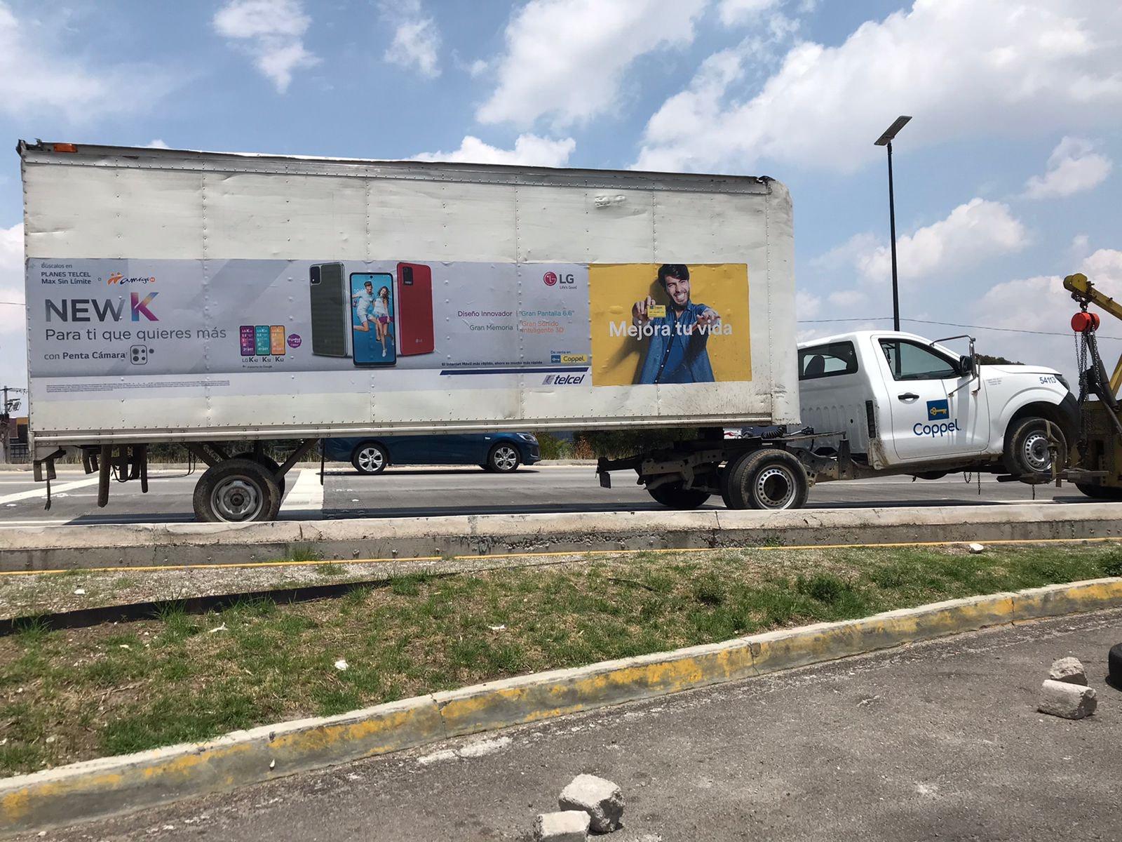 En flagrancia, Policía Estatal detiene a presunto asaltante a transporte de carga