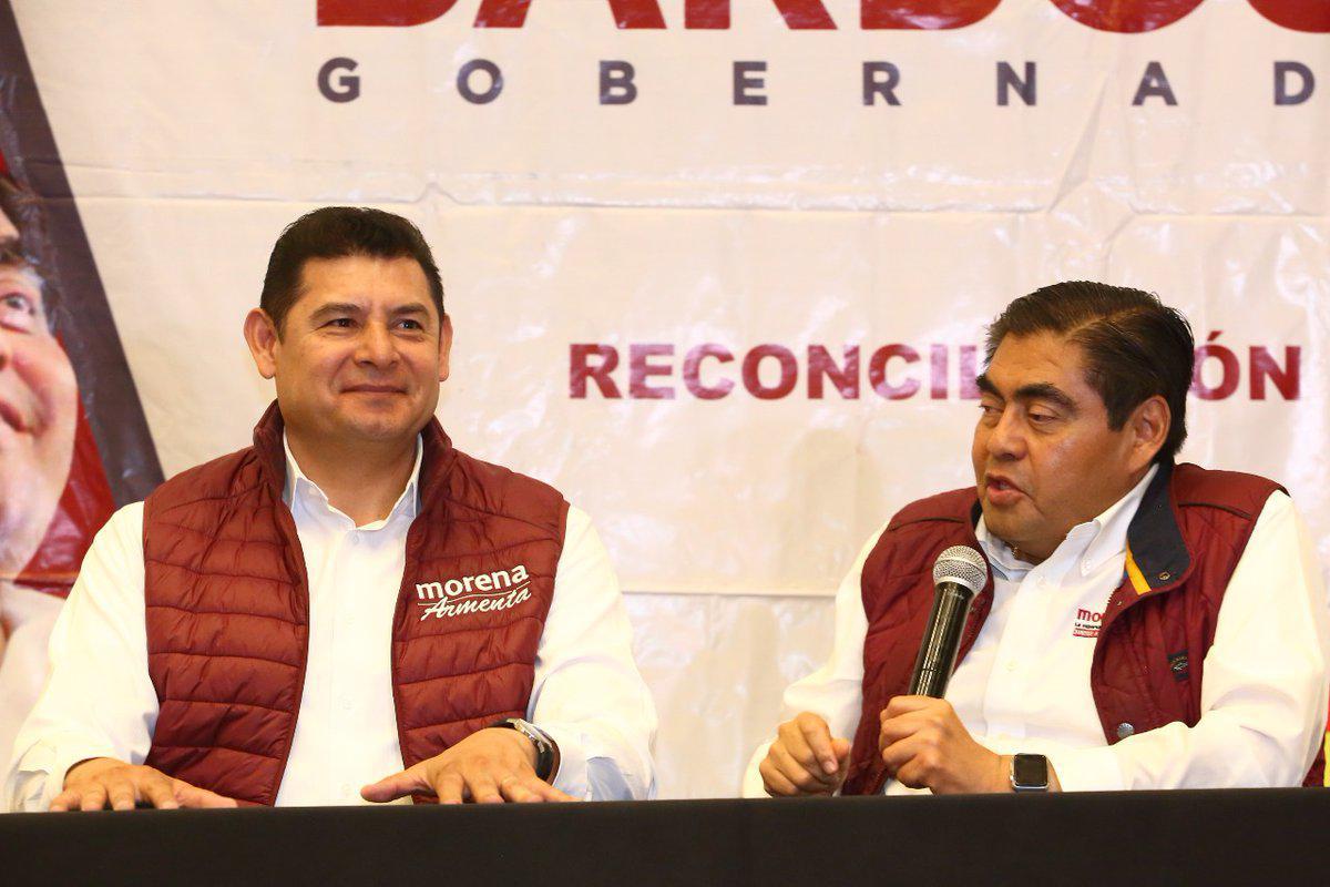 Interés de Armenta por competir para alcaldía enriquece la contienda: Barbosa