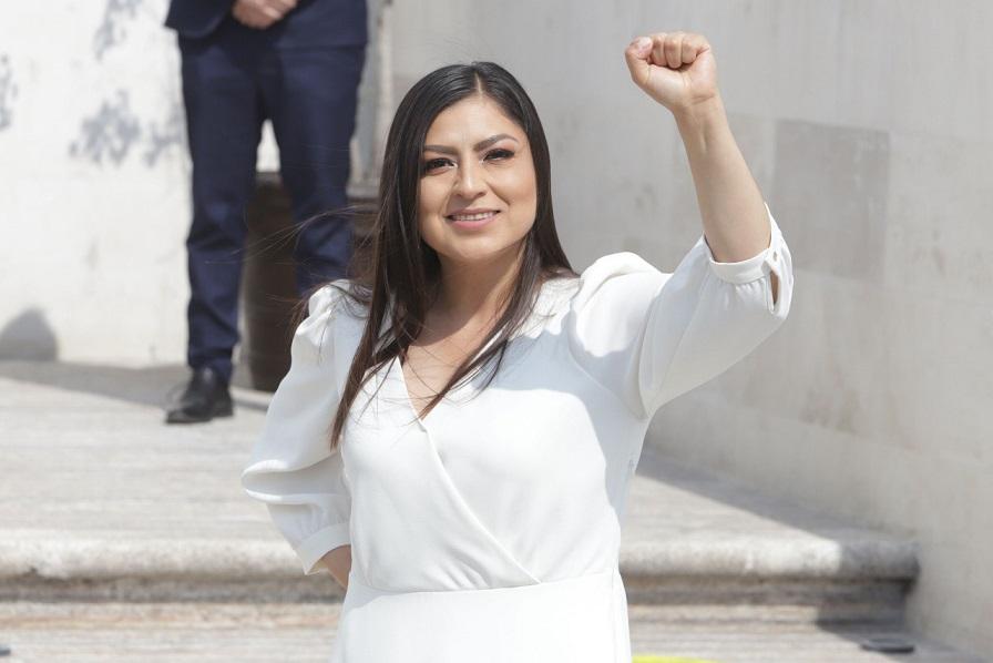 Continuará Claudia Rivera combatiendo la corrupción en Puebla, ofrece durante debate
