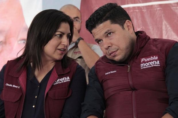 Continúarevancha entre Biestro y Claudia Rivera, ambos desean ser dirigentes estatales de Morena