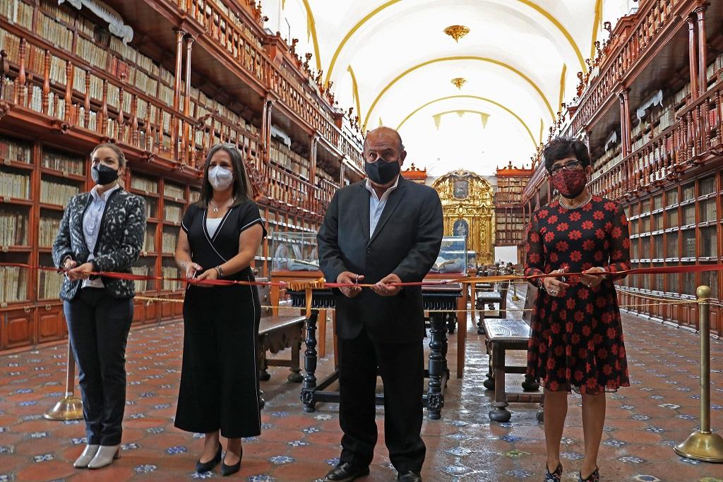Con exposición, Cultura celebra el 375 Aniversario de la Biblioteca Palafoxiana