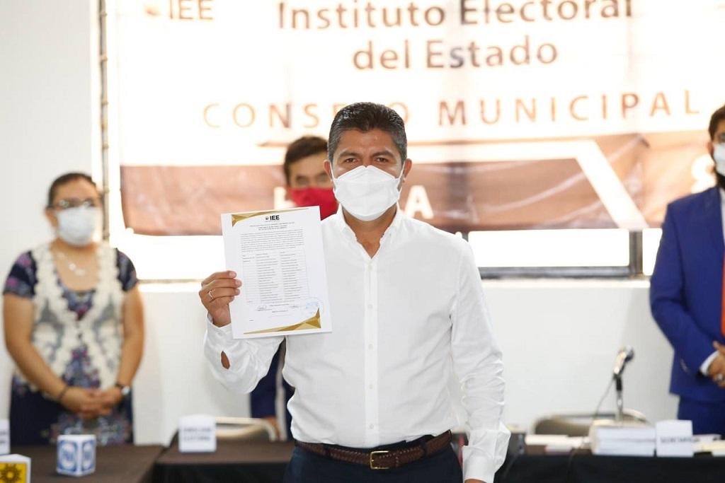 Instalará Eduardo Rivera mesa permanente con CCE y universidades para reforzar seguridad y reactivación económica