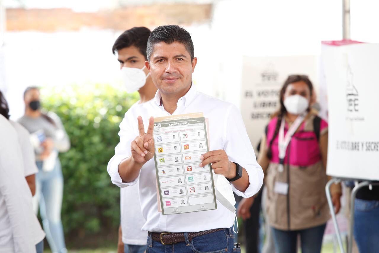 Eduardo Rivera Pérez invita a la ciudadanía a vivir la jornada electoral con calma