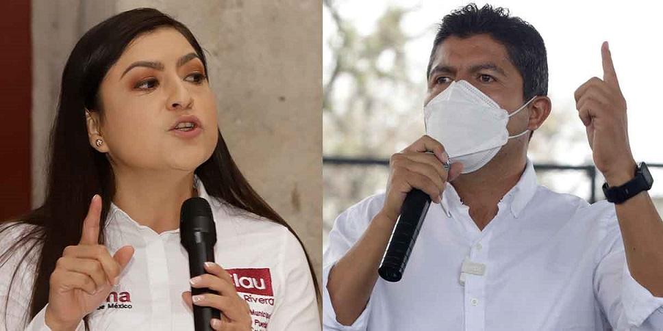 Eduardo Rivera aventaja 10 puntos a Claudia Rivera encuestas de salida