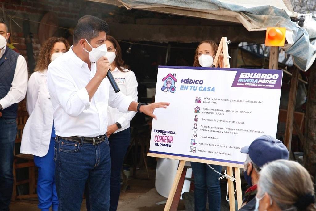 Advierte Eduardo Rivera que retirará ciclovías inservibles de Claudia Rivera