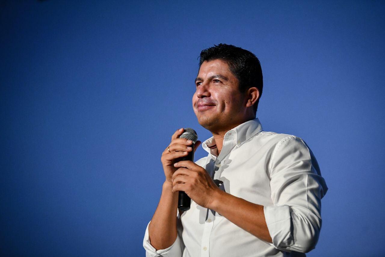 Promete Eduardo Rivera seguridad y otras mil nuevas calles en Puebla