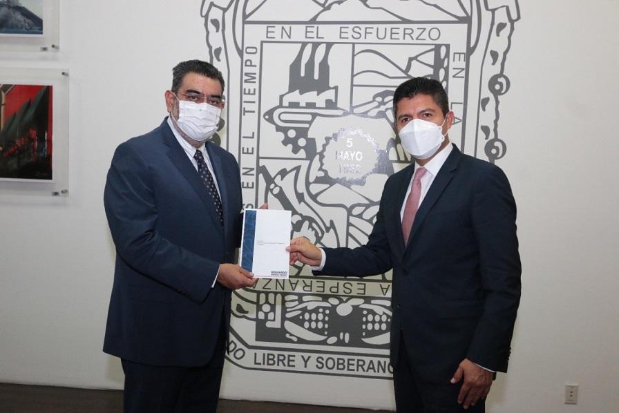 Confirma Eduardo Rivera asistencia de Barbosa y diputados a toma de protesta 15 de octubre