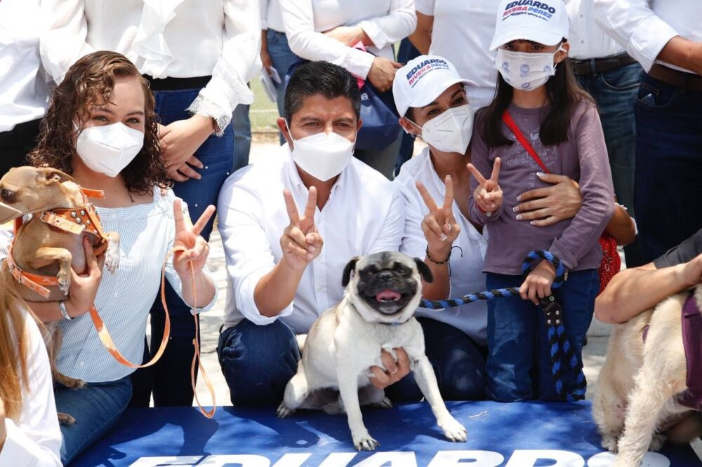 Implementará Eduardo Rivera Pérez campaña de bienestar animal