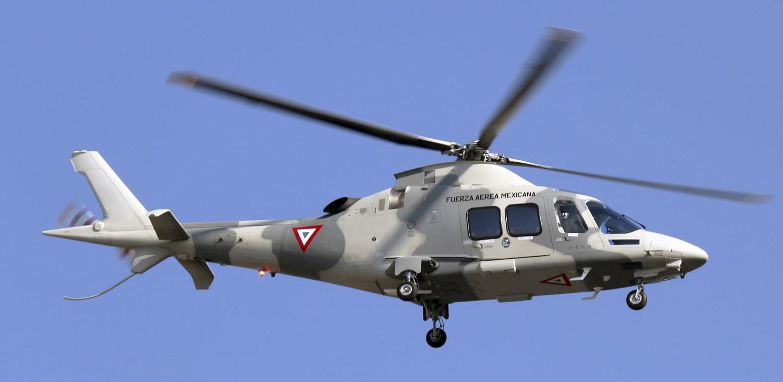 Reportan caída de helicóptero de la Fuerza Aérea Mexicana en Hidalgo