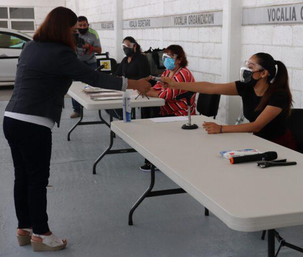 INE e IEE Puebla dan a conocer medidas de sanidad que se aplicarán en las casillas