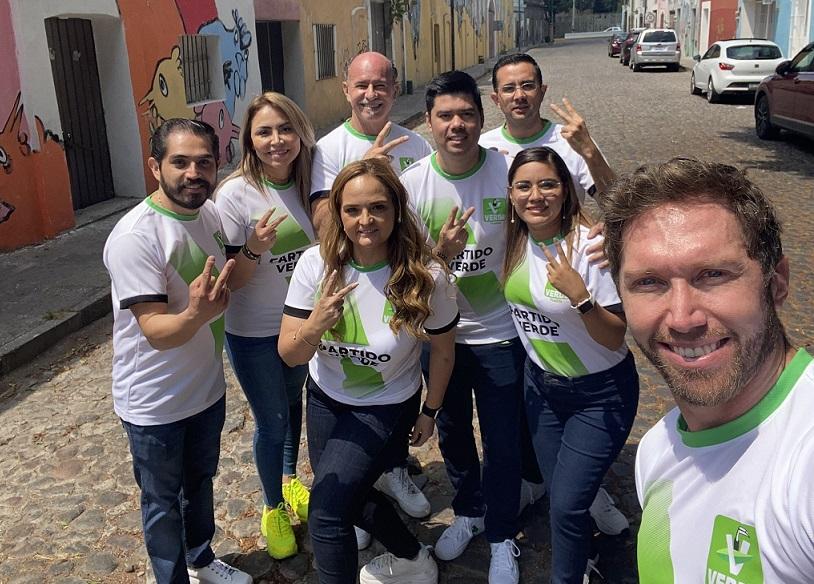 """Arrancan Jimmy Natale y """"El Capi"""" campaña en Puebla; serán tercera fuerza política"""