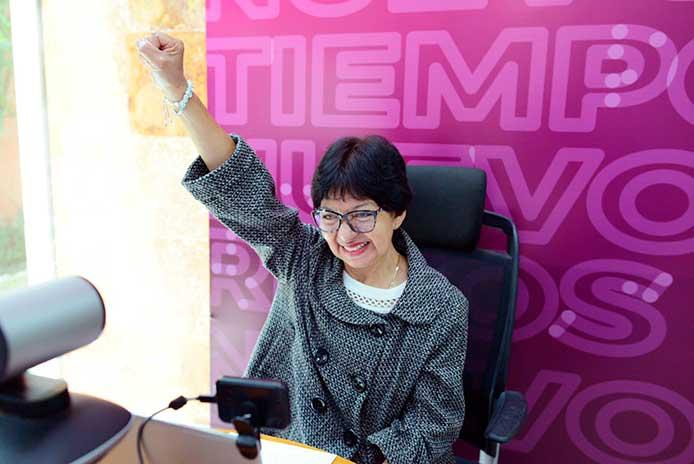 Barbosa tendrá relación institucional con Lilia Cedillo, una vez que sea ratificada como rectora BUAP