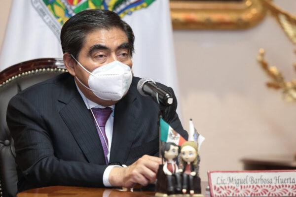 Puebla sin reportes de niños huérfanos por muerte de padres Covid-19: Barbosa