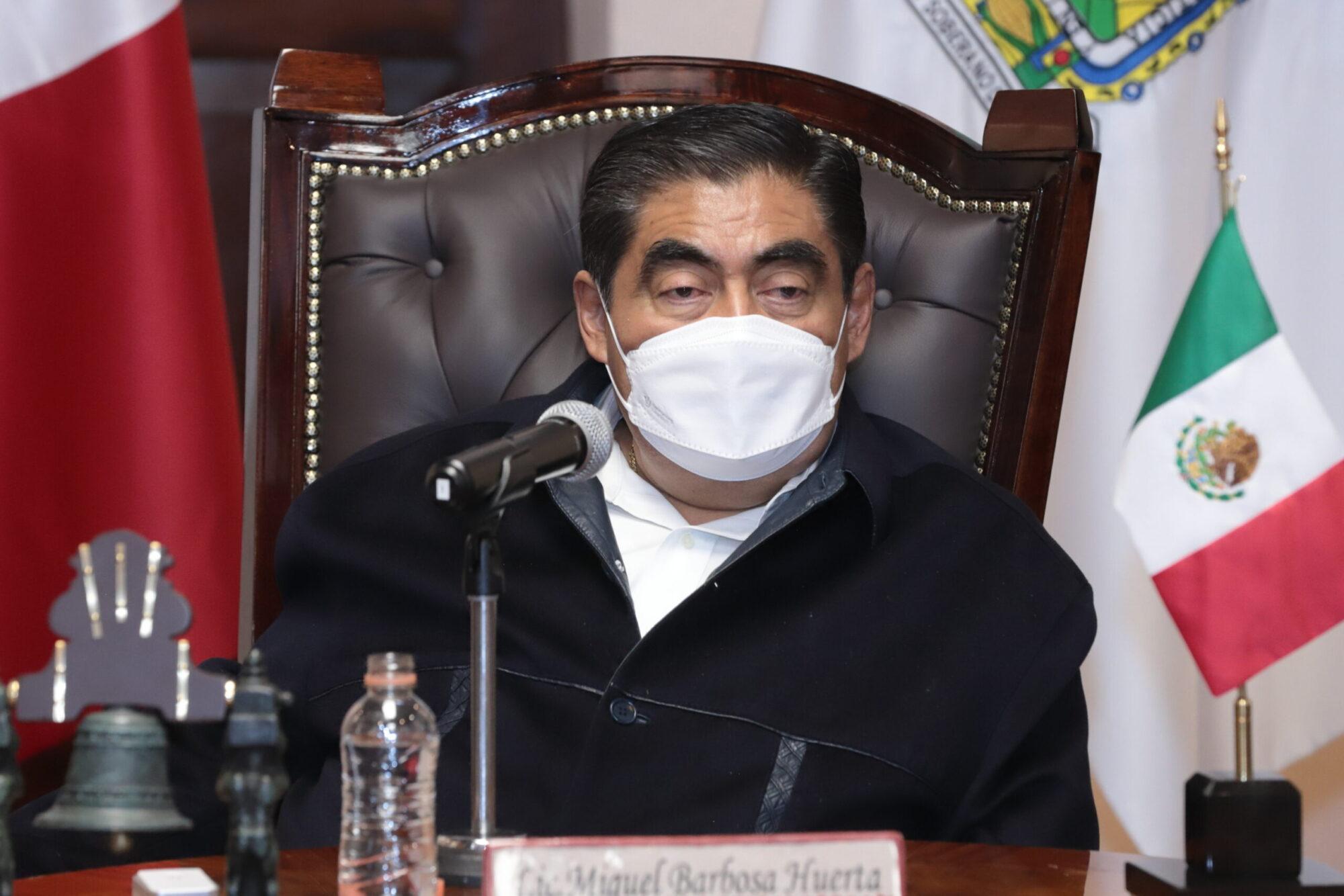 """En Puebla no hay """"focos rojos"""" para Grito de Independencia, Barbosa"""