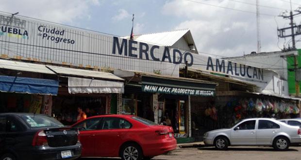 Locatarios de Amalucan celebran cancelación del proyecto