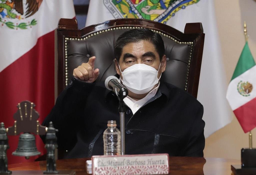 Puebla cumplirá con sentencia de 24 amparos en menores para vacunación Covid-19: Barbosa