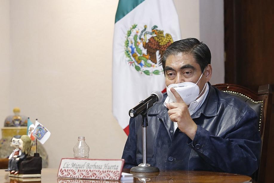Permanente estrategia de detención de delincuentes medianos y grandes en Puebla, advierte Barbosa