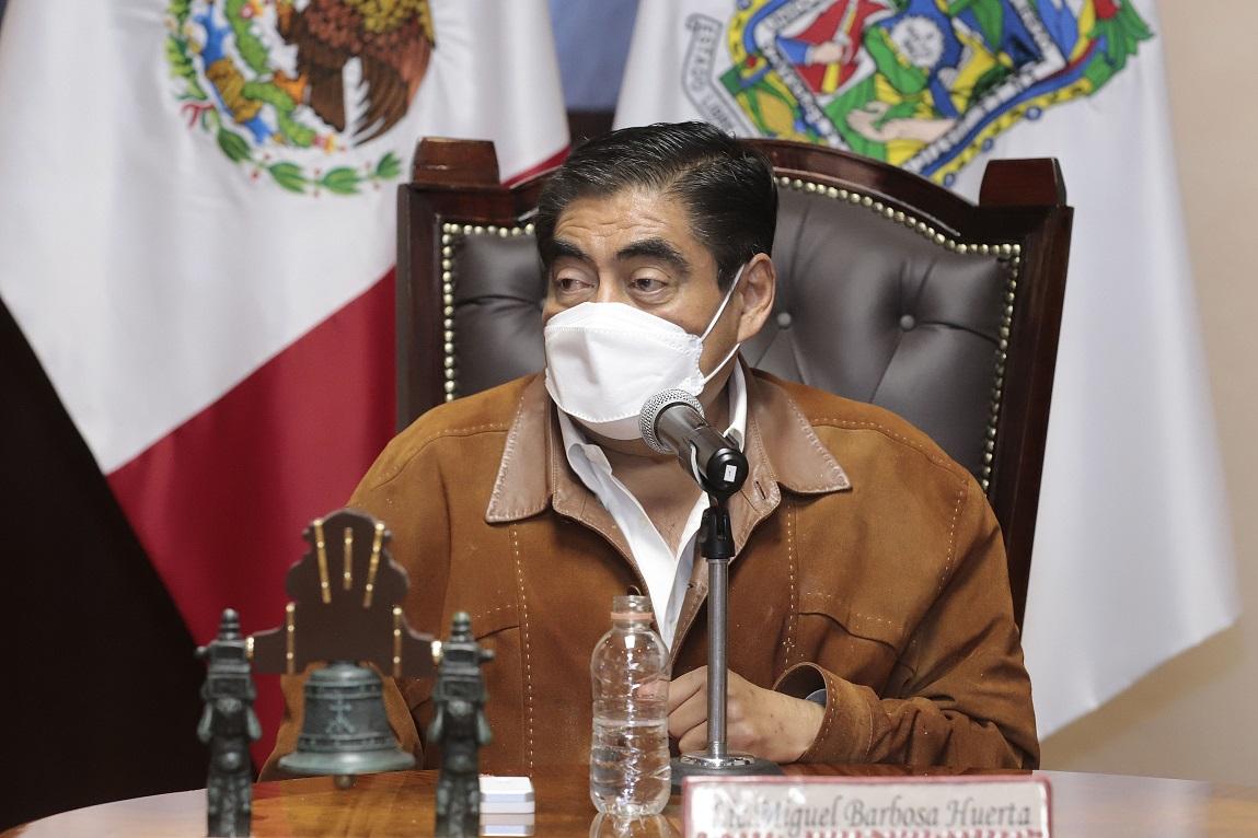 En Puebla existe un ambiente de paz al termino e inicio de ayuntamientos: Barbosa