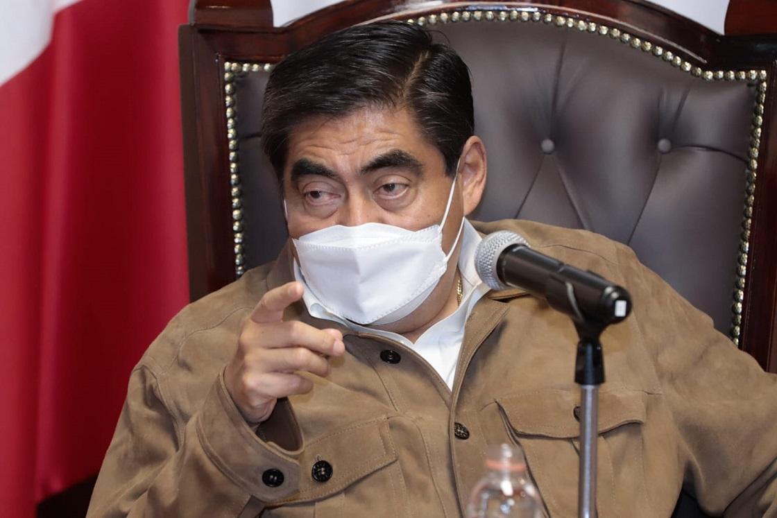 """Avanza captura de """"El Toñín"""" en Puebla, que sea sin derramamiento de sangre, advierte Barbosa"""