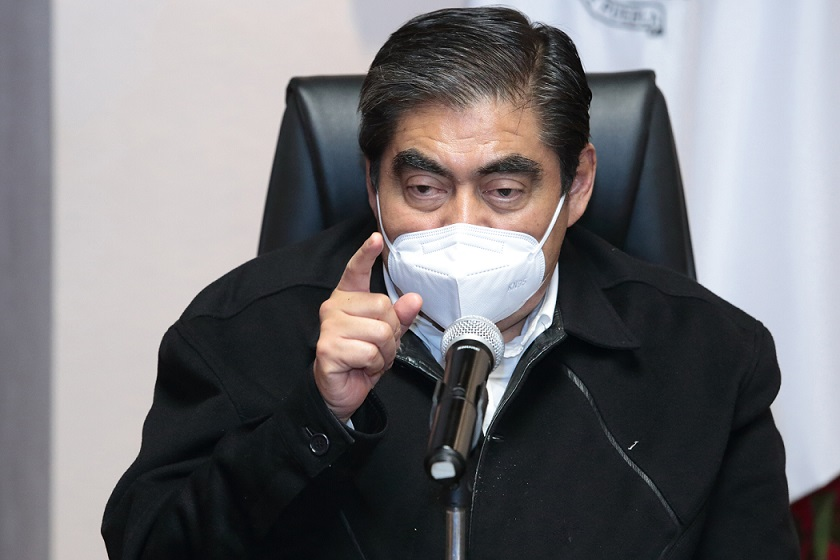 Advierte Barbosa que Puebla está en riesgo de regresar a semáforo rojo en 2da etapa de pandemia
