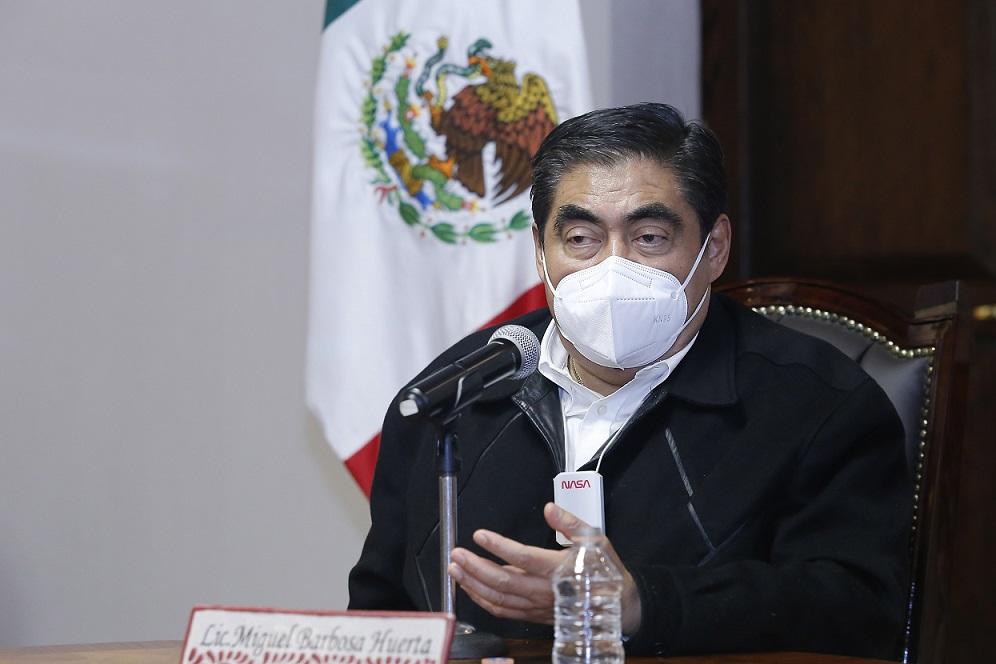 Puebla cuenta con estrategia para ampliar capacidad hospitalaria frente a Covid-19: Barbosa