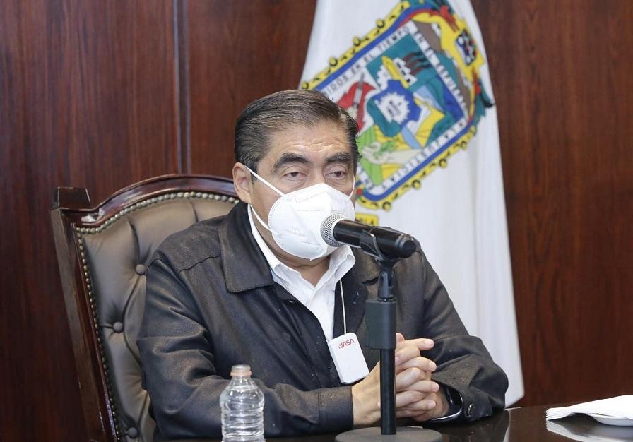 Existen condiciones de seguridad para instalar 100 % de las casillas en Puebla: Barbosa