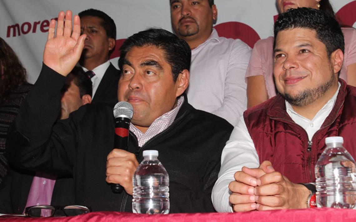 Avala Barbosa aspiraciones de Biestro a alcaldía de Puebla