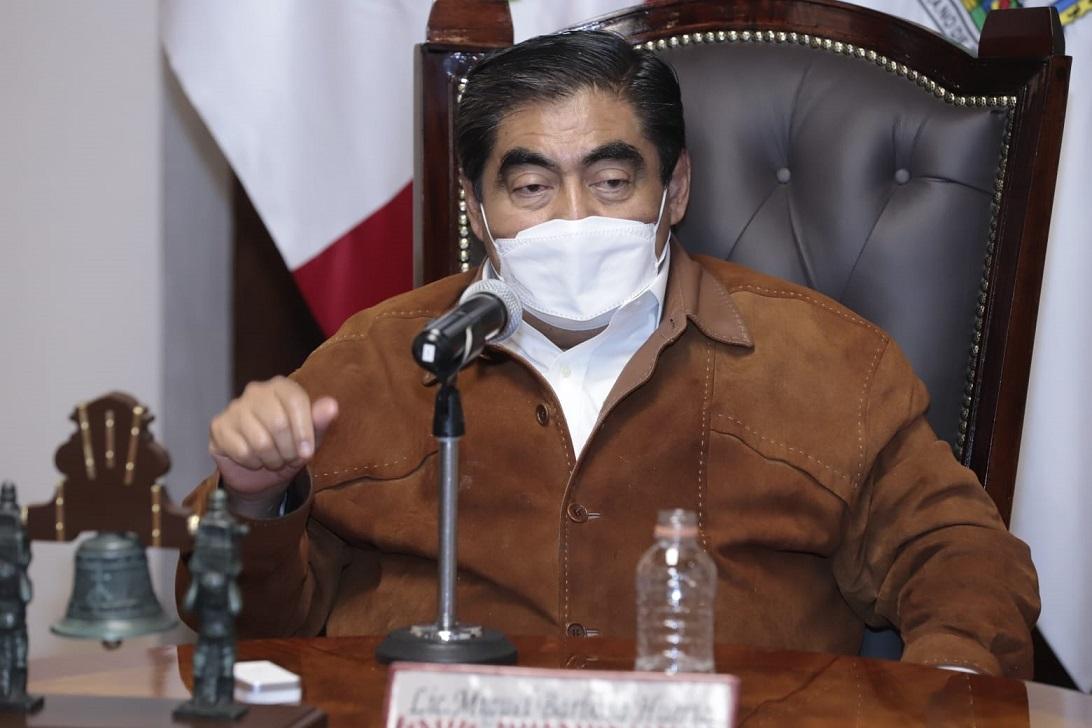 Puebla sin riesgos o conflictos para toma de protesta de 217 ediles: Barbosa
