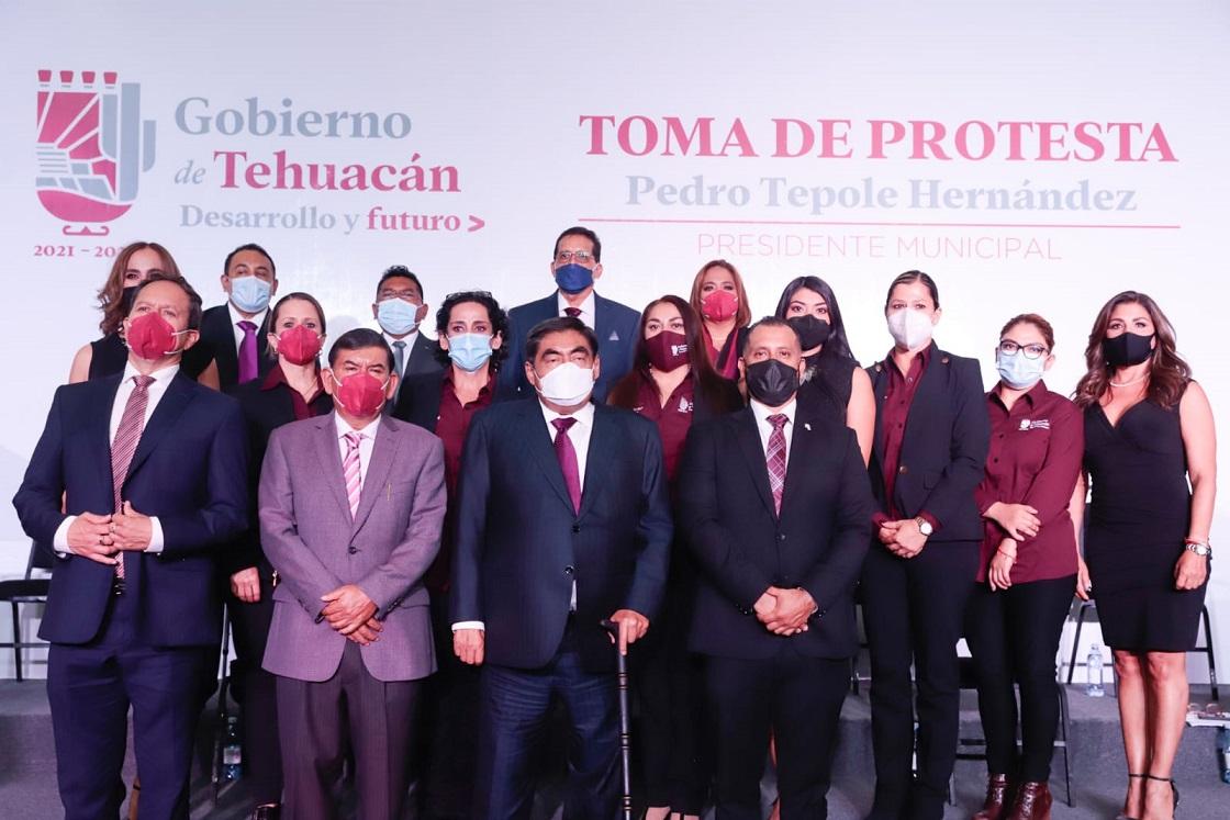 Con Pedro Tepole, Tehuacán será un polo de desarrollo y moderno: Barbosa