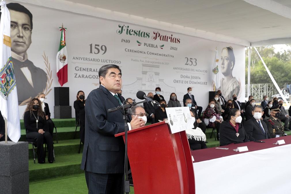 Reconoce Barbosa lealtad y cumplimiento del deber del Ejército Mexicano