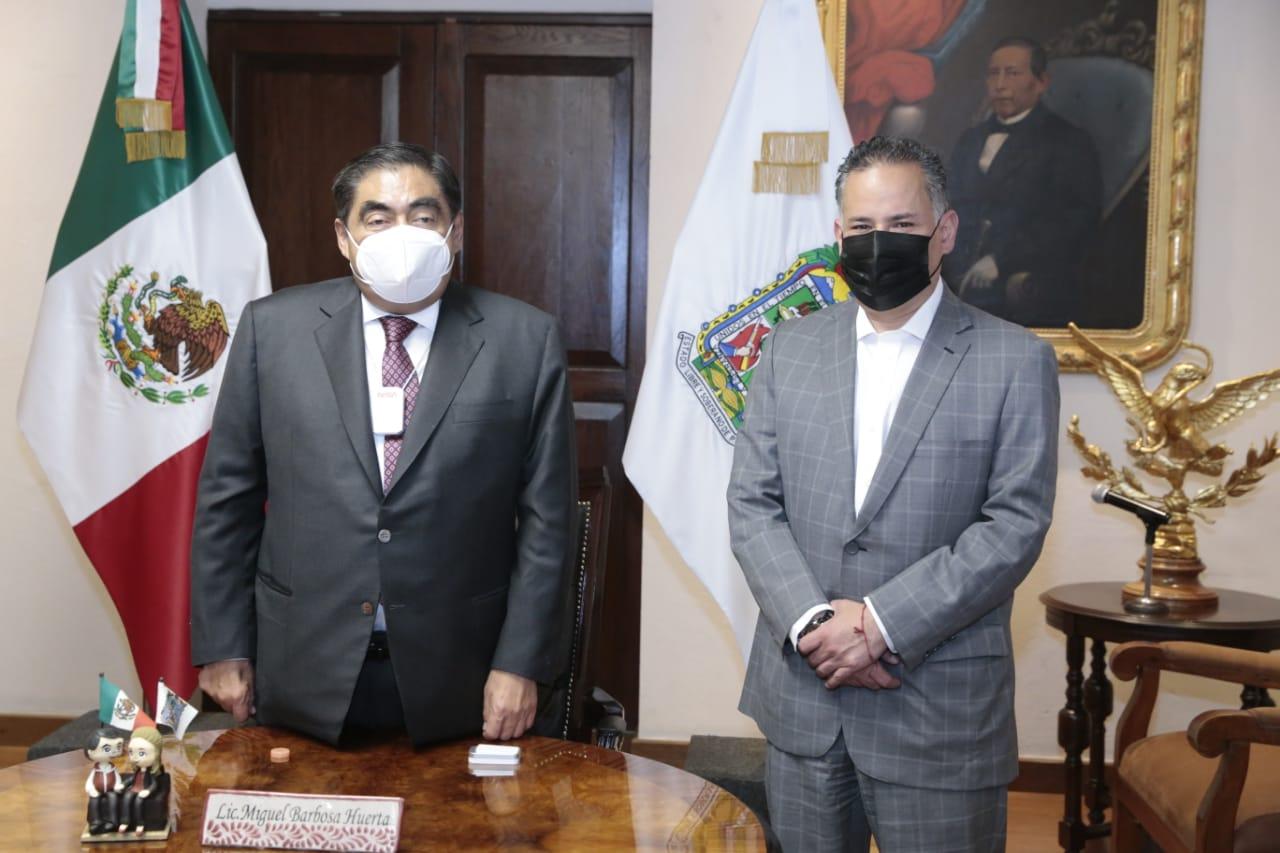 """""""Nunca he solicitado a Santiago Nieto el congelamiento de cuentas de nadie"""", Barbosa"""