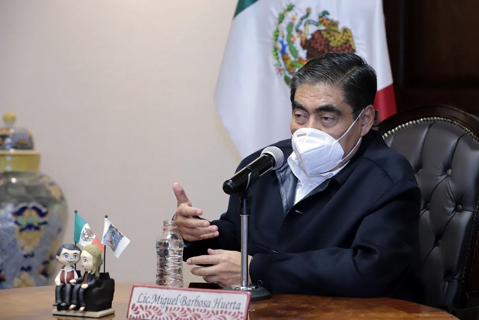 En Puebla terminó el espionaje, mi gobierno nunca lo hará: Barbosa