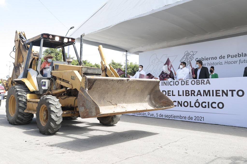 Podrían llegar a Puebla casi 6 mil mdp de recursos federales para obras en 2022