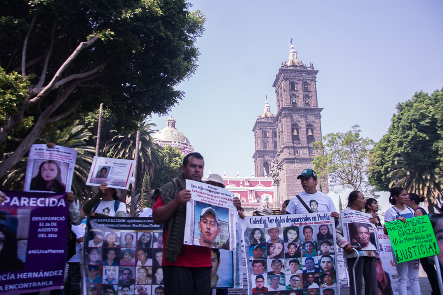 Abre FGE 117 carpetas de investigación en diciembre por desaparición de personas