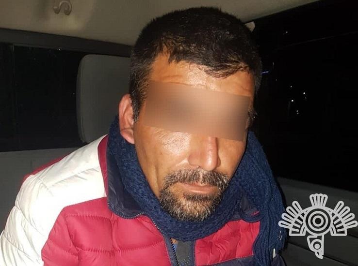"""En Aquixtla, Policía Estatal captura a presunto integrante de """"El Maestro"""""""