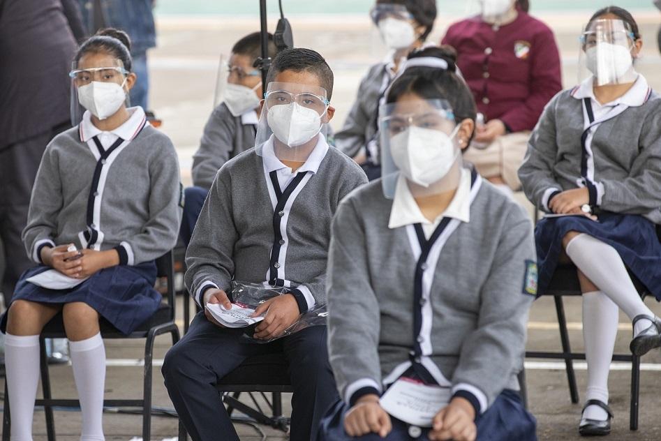 Contagiados 492 maestros y alumnos de Covid-19, en octava semana de Regreso a Clases en Puebla: SEP