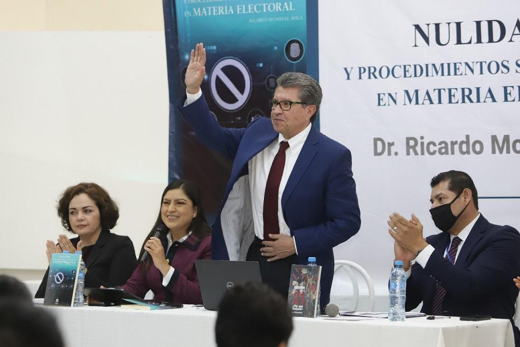 Tengo la confianza de que Claudia Rivera saldrá adelante, pese a que proceso esta judicializado: Ricardo Monreal