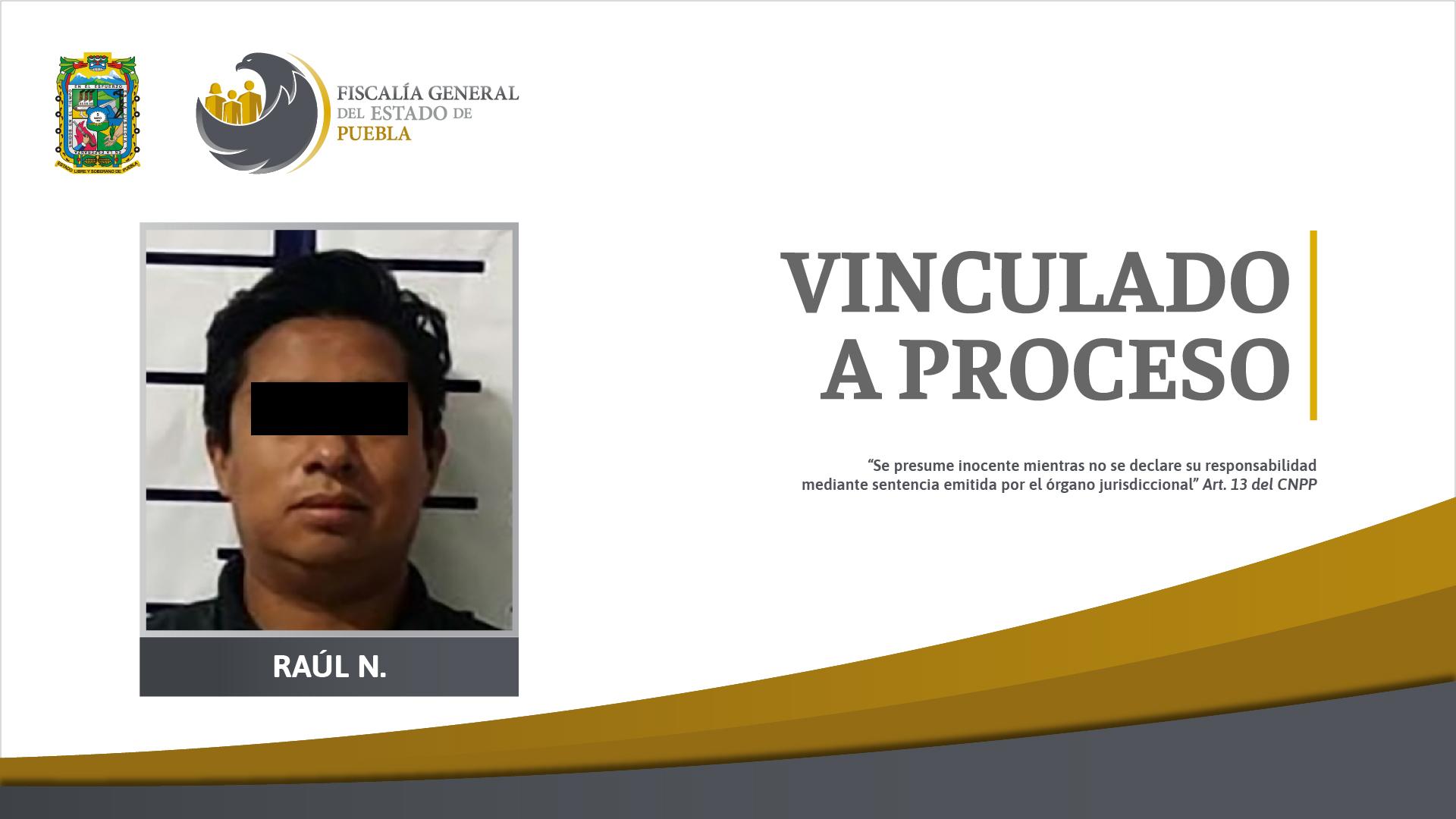 Por abuso sexual fue vinculado a proceso un detenido en Texmelucan
