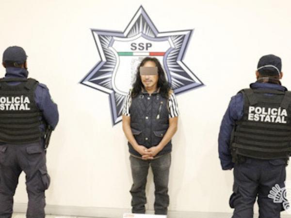 Policía Estatal detiene a hombre presuntamente dedicado al robo a casa habitación