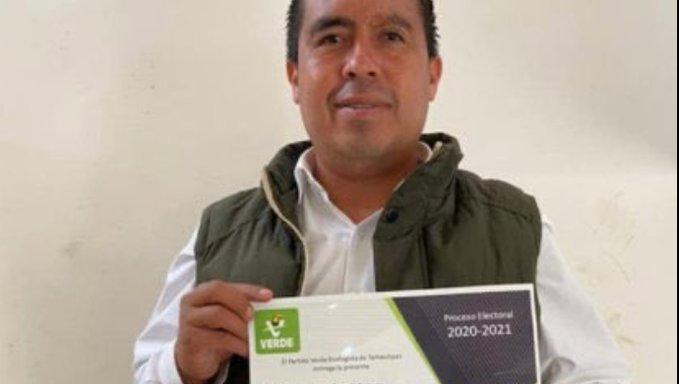 Asesinan a Rocha Chávez, candidato a diputado local del PVEM en Tamaulipas