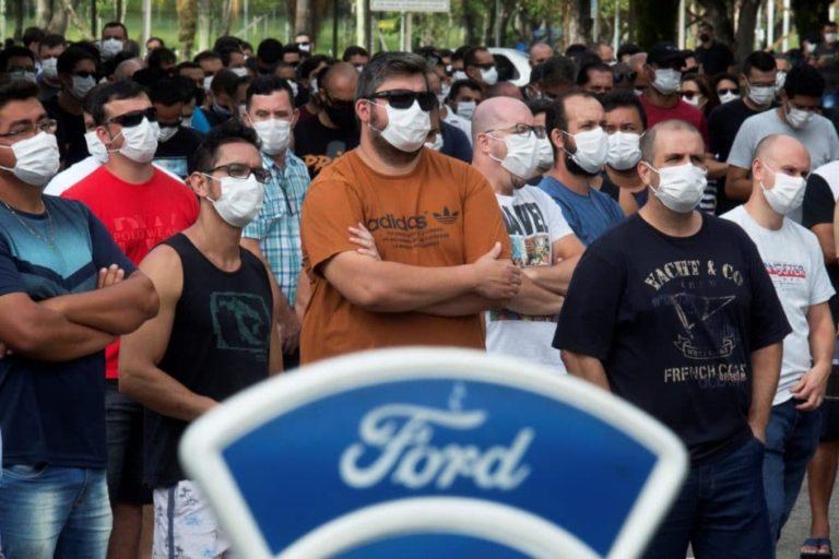 Ford cierra plantas en Brasil
