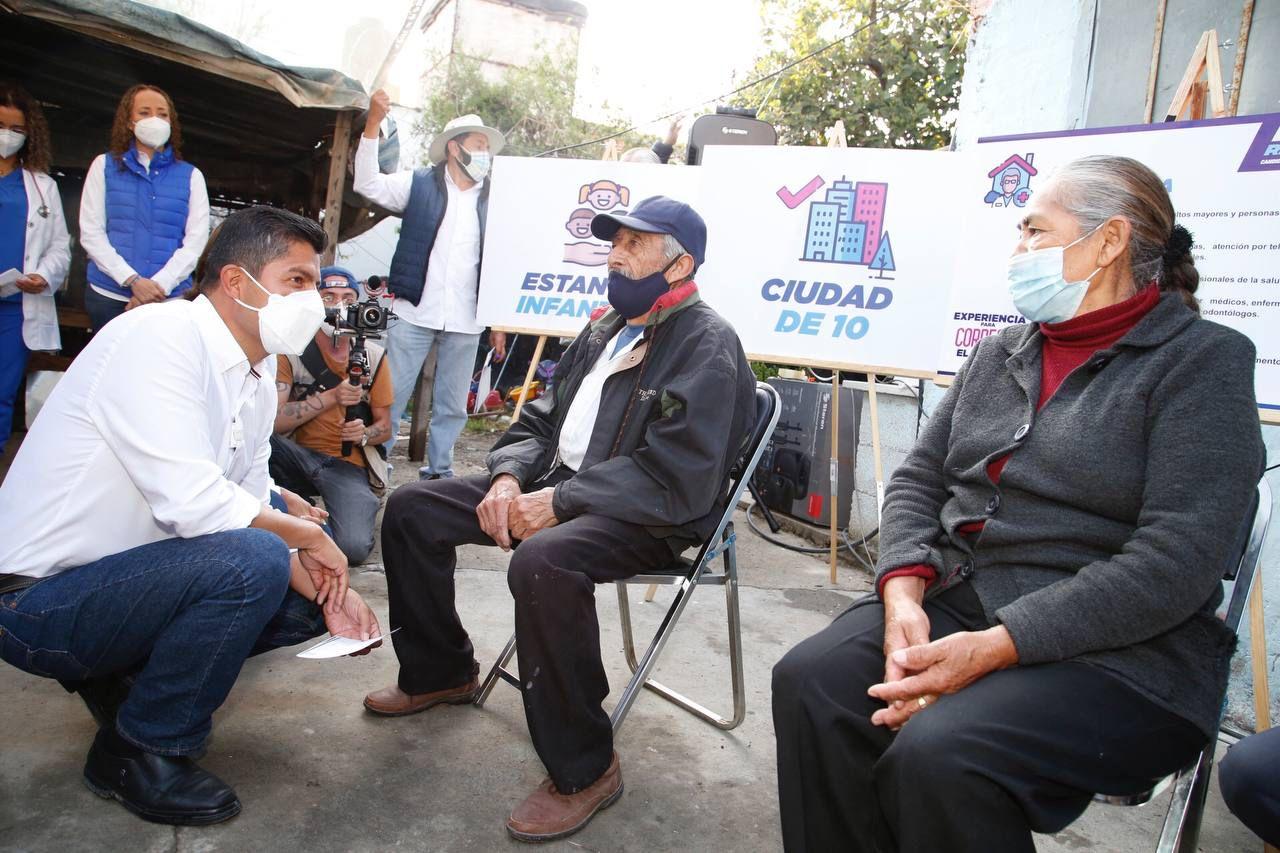 Serán 5 mil adultos mayores y personas con discapacidad las que recibirán servicios médicos gratuitos y de calidad  resaltó Eduardo Rivera Pérez