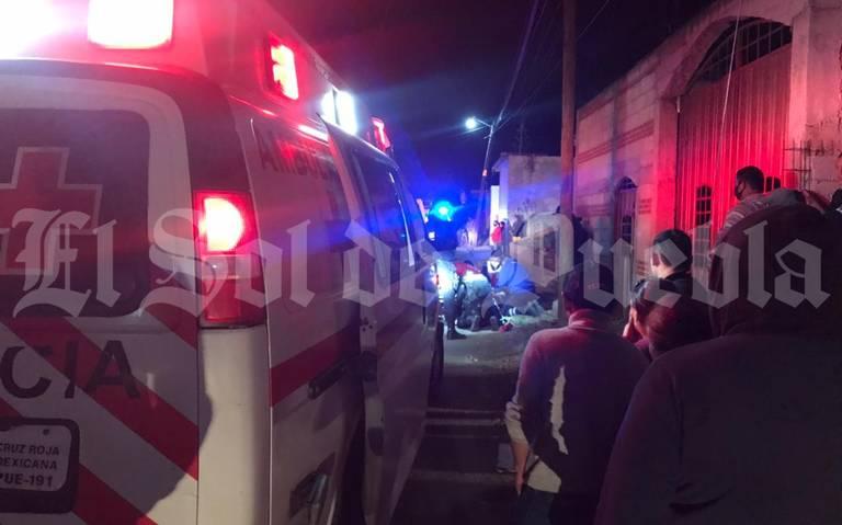 Delincuentes abaten Policía en Huejotzingo