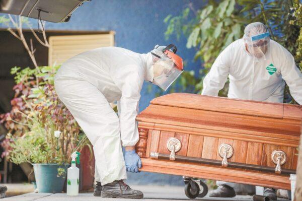 Colombia supera los 90 mil muertos