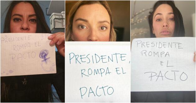 Mujeres protestan en redes sociales por candidatura de Félix Salgado Macedonio