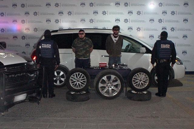 Capturan a dos que robaban autopartes en la Naciones Unidas