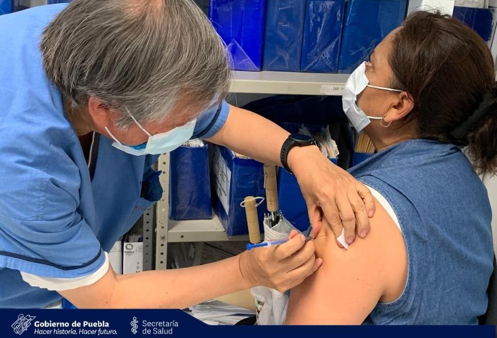 Confirma Salud logística para segunda etapa de vacunación en zona Surponiente del Estado